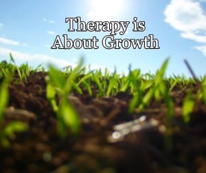 Therapy is About Growth