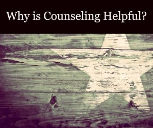Why is counseling helpful