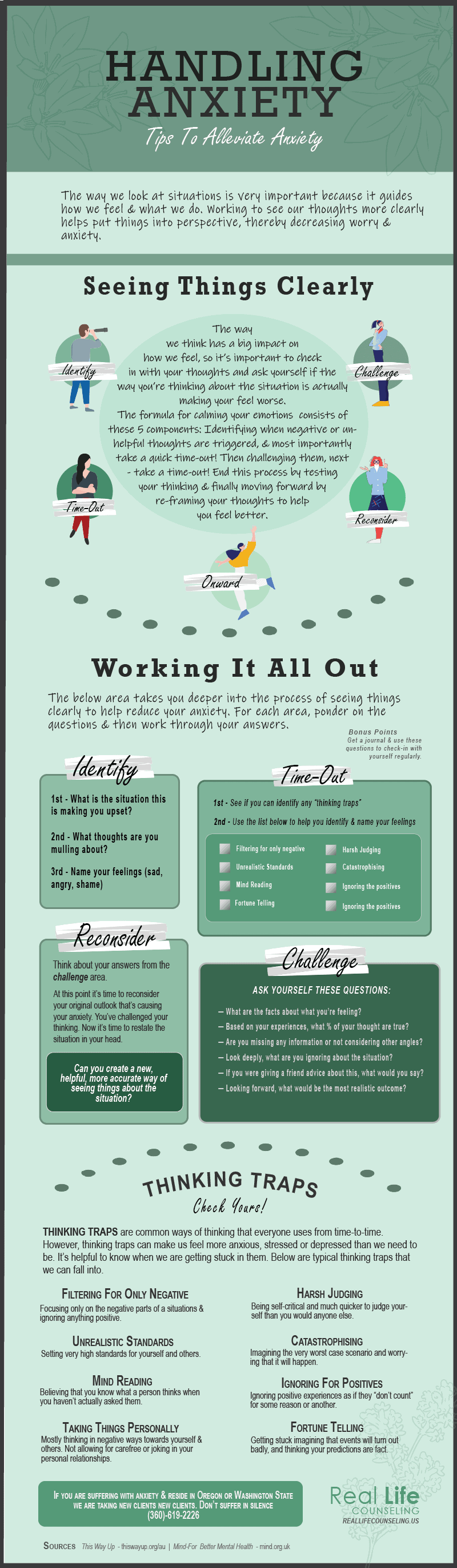 Infographic-Handling Anxiety